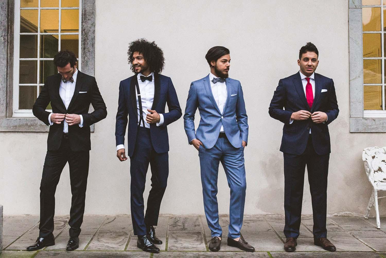 Models auf der Hochzeitsmesse