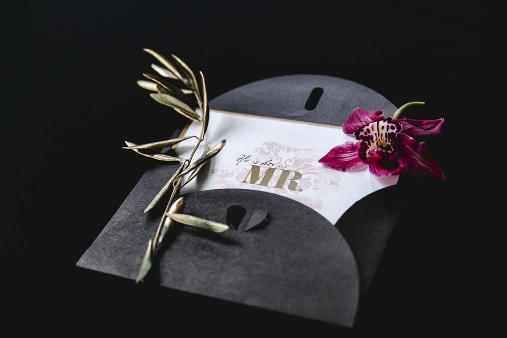 elegante Hochzeitspapeterie von Schriftstuecke