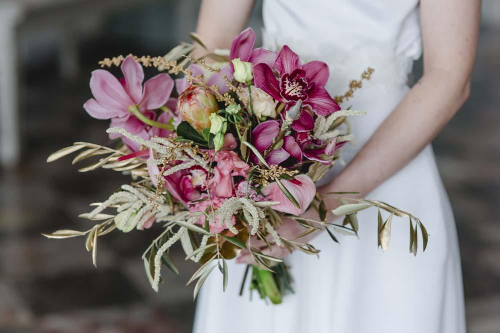 Brautstrauß von dieblumenbinder