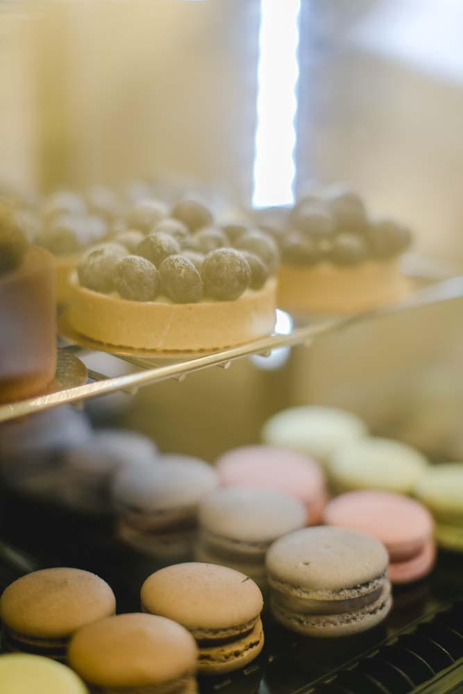 Macarons auf unserer Bube Dame Herz-Hochzeitsmesse, Foto: Katharina Hein