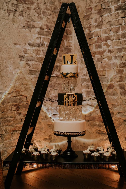 Art Deco - Hochzeitstorte