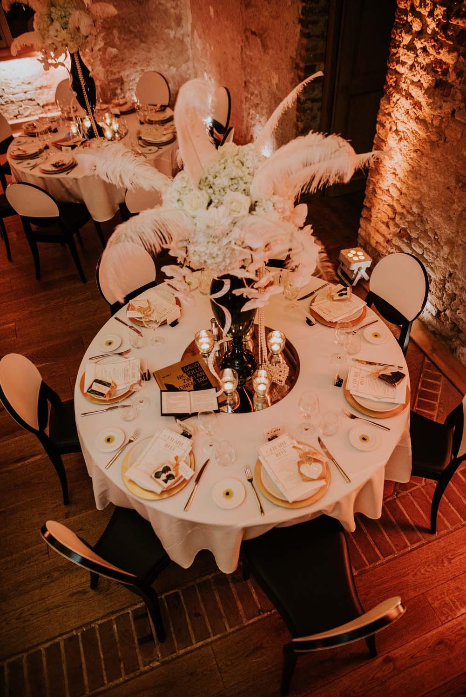 Gatsby-Hochzeit nach einem Konzept von tatiana de Weber
