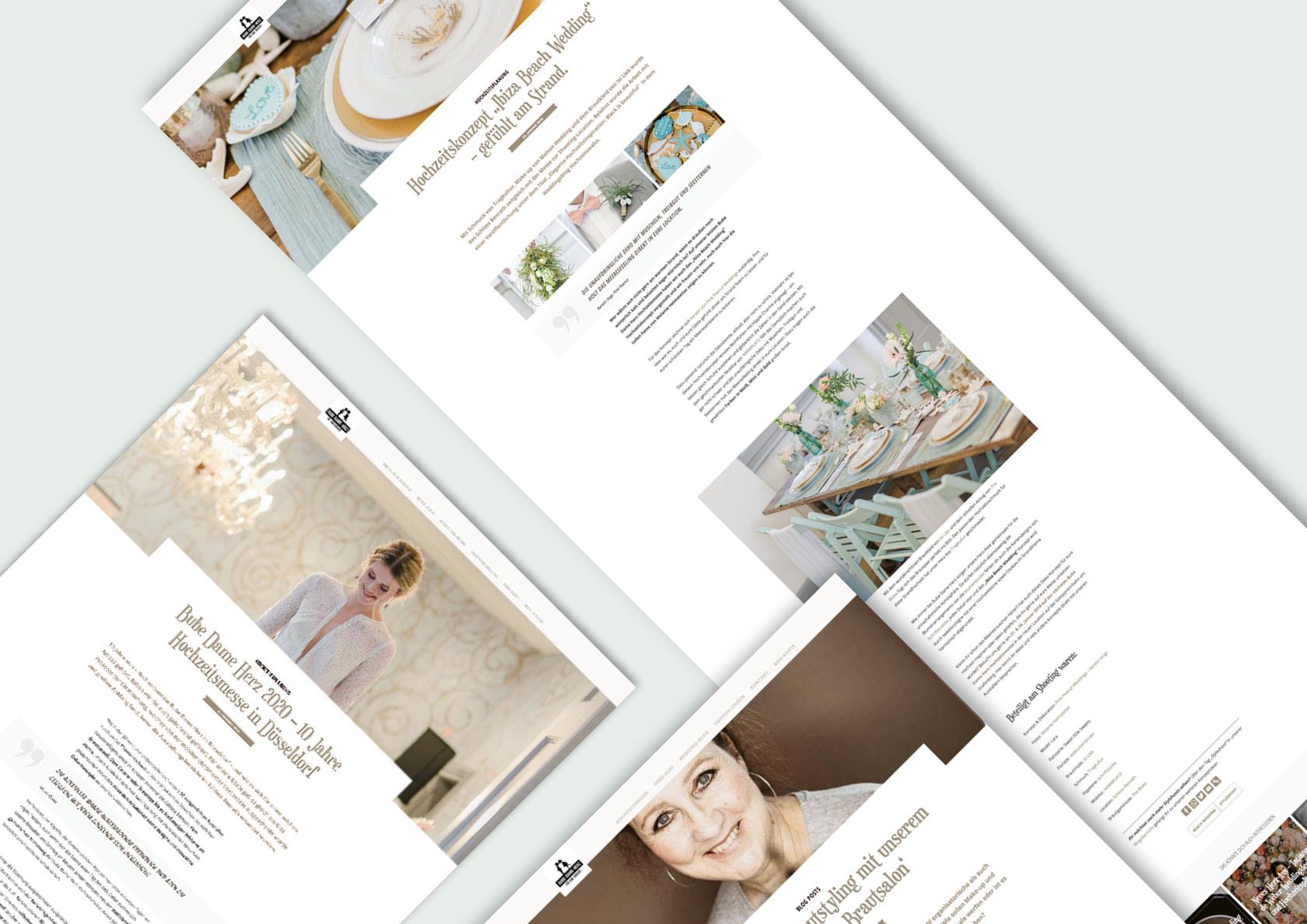 Verschiedene Blog-Artikel unserer neuen BDH-Website.