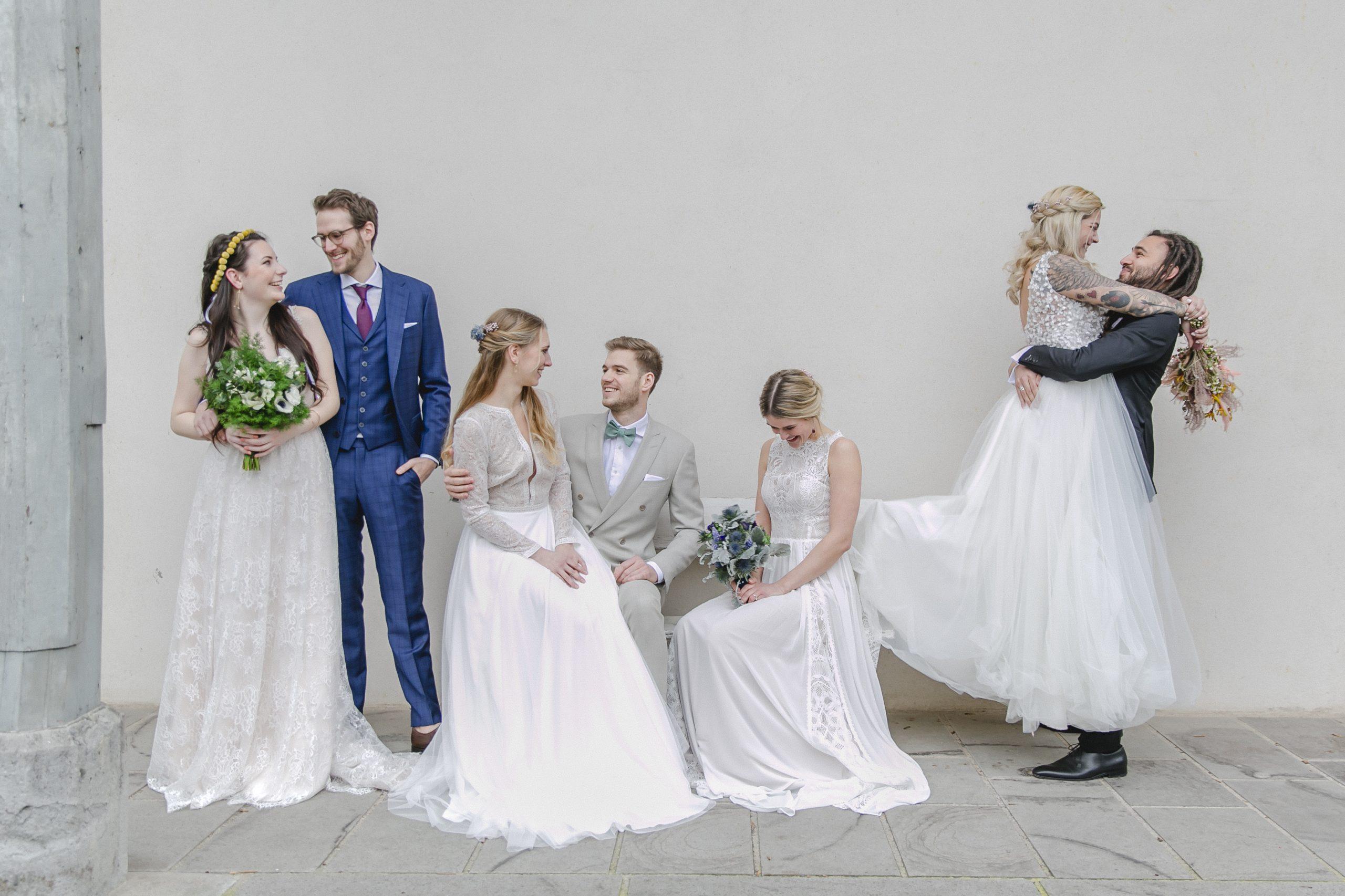 Models der BDH-Hochzeitsmesse 2020