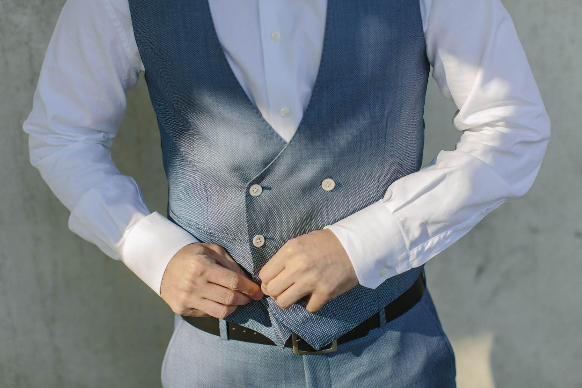 Die passende Weste zum Anzug