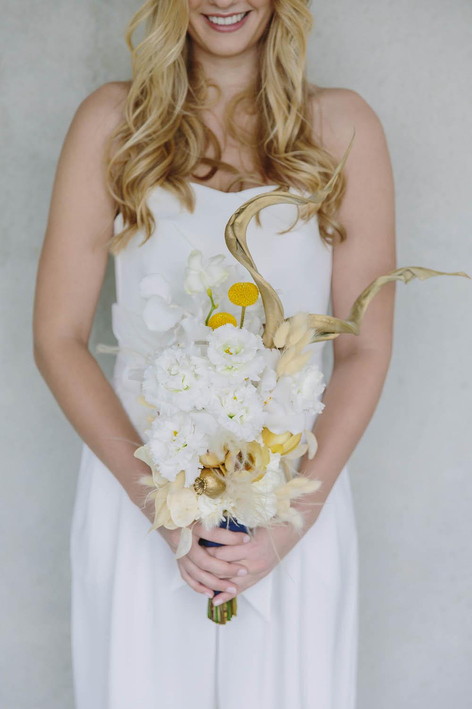 Ein Brautstrauß von dieblumenbinder.